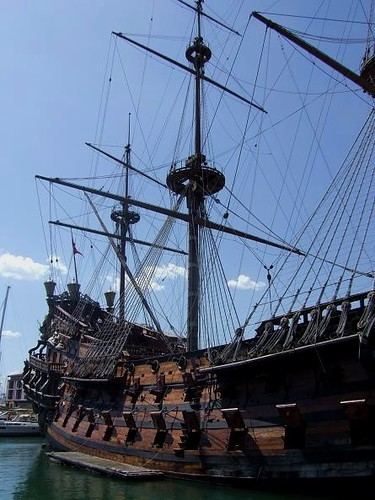 a Pirate Ship from Roman Polanski's Film