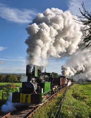 Dubsy (geoffspages) Tags: railway steam dubs foxfield uksteam