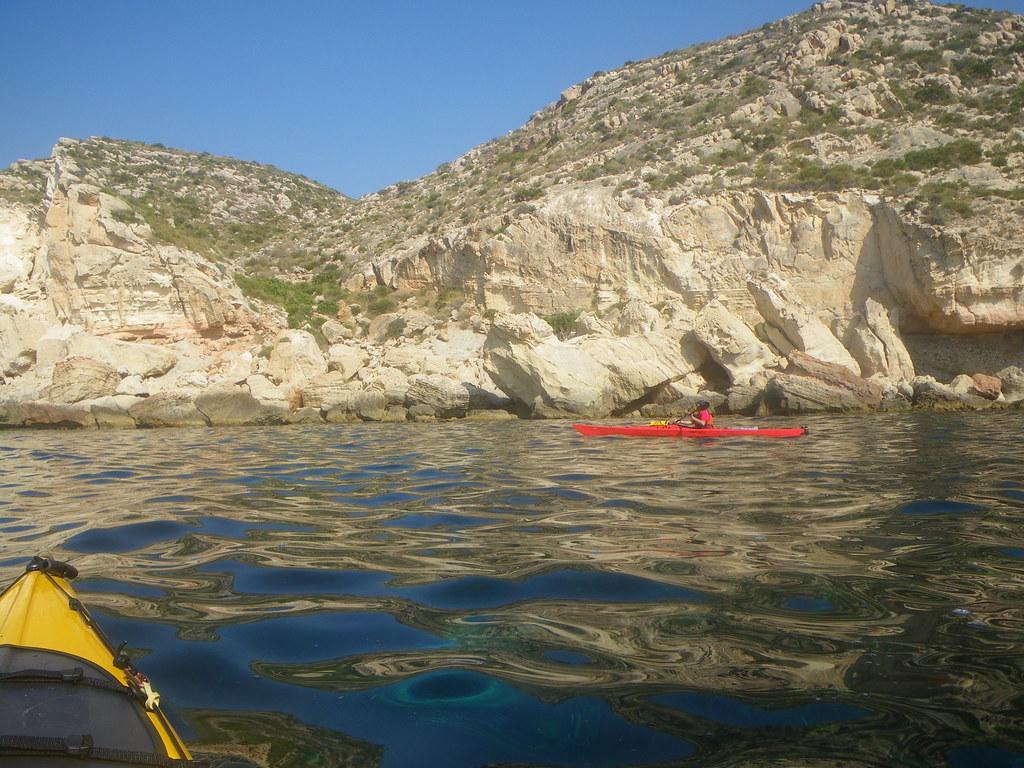 Cabo de Gata en kayak 364