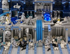Failure (Bart De Dobbelaer) Tags: lego space diorama prometheus