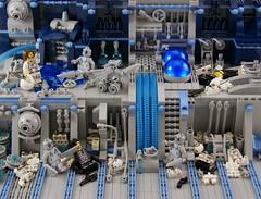 Failure (Bart De Dobbelaer) Tags: lego space diorama prometheus