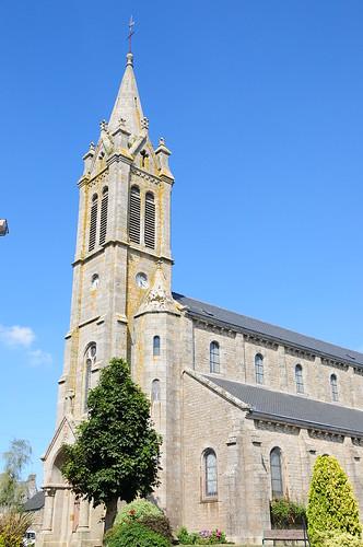 église de Ploeuc-sur-Lié (22) Côtes d'Armor- Bretagne