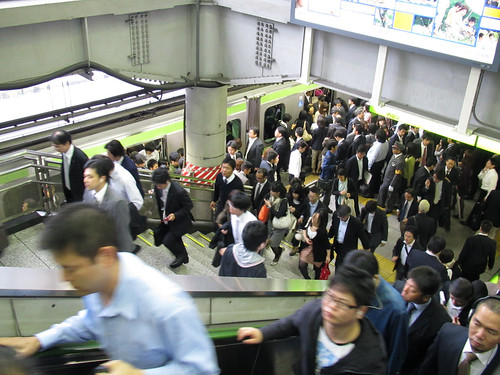 Rush Hour at Shinagawa