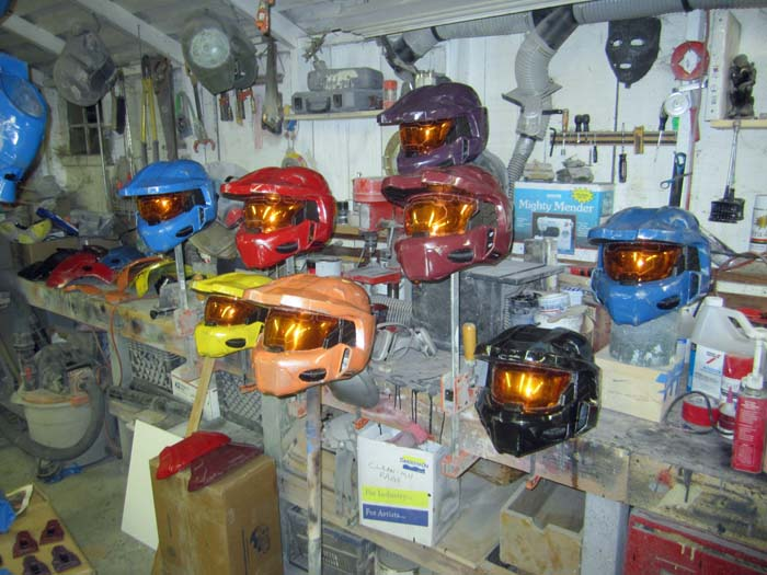 Painted Helmets