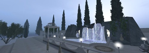 Second Life - Neutrino Campus Island