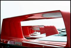 Red Tunnel (Sartori Simone) Tags: auto uk greatbritain red england italy london geotagged europa europe italia ferrari silverstone londres circuit londra digest inghilterra f40 dreamcars allrightsreserved simonesartori ferrariracingdays sfidephotoamatoriwinner