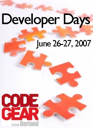 CodeGear Developer Days June-2007
