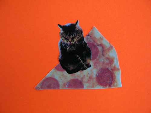 killer pizza riding kitties from outer space