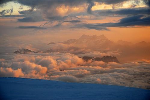 Sunrise @ Mont Blanc