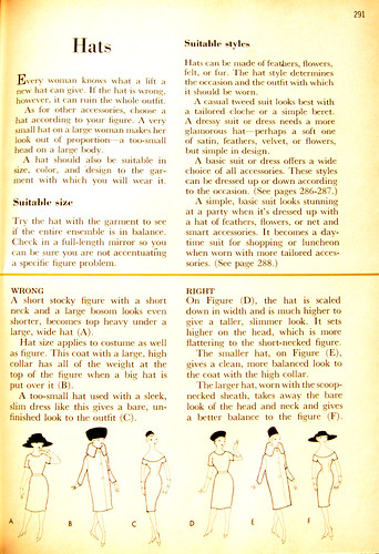 better homes and gardens sewing book 1961 hats