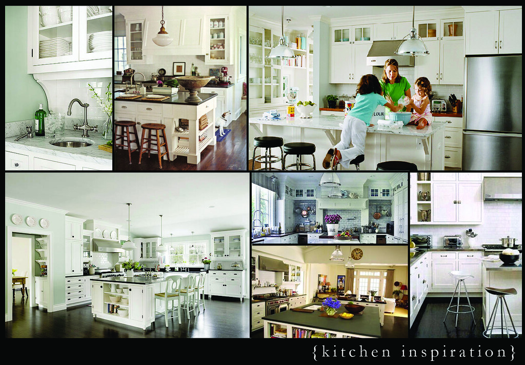 my inspiration kitchens can give you a sense of what I was going for