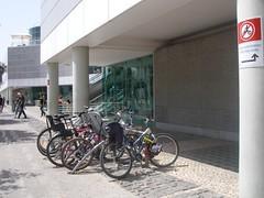 Estacionamento para bicicletas do CC Vasco da Gama
