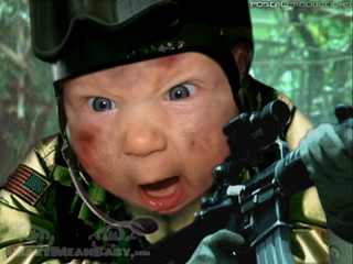 Young Delta Force Operator :-)