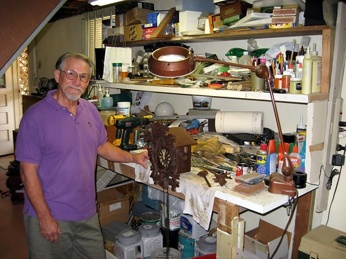 dad kansascity missouri messy workbench