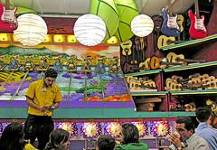 DSCN4749 ep sm (Eric.Parker) Tags: public evening candid games cne africanamerican amusementpark rides midway 2007 canadiannationalexhibition