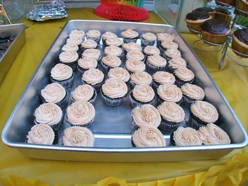 Cupcake: Hershey's Dark Chocolate Minis w/ Dark Chocolate and Peanut ...
