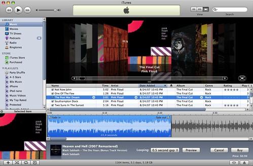 Ringtones na iTunes Store
