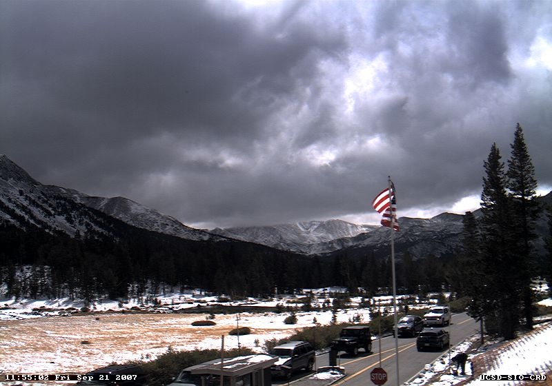 2007 webcam shot of storm over Tioga Pass
