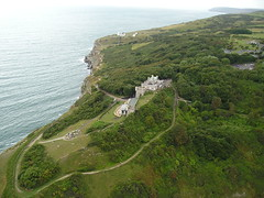 Durlston Castle from the Air