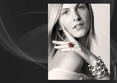 CLASSIC PORTRAITS 3 (Francesco Carta) Tags: white black classic beauty portraits jewels bianco nero gioielli