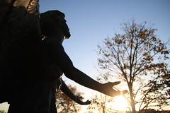 Silhouette (WeatherOz) Tags: autumn sunset fall canon rebel sigma northdakota grandforks sigma1850mm sigma1850mmf28 xti sigmaex 400d rebelxti eos400d