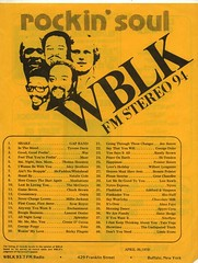 Rockin' Soul WBLK FM Stereo 94 Buffalo.N.Y. top 40 chart April 30, 1979