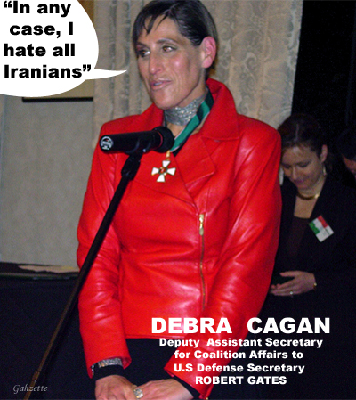 Debra Cagan - I Hate Iranians