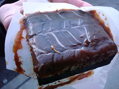 Caramel Turtle Brownie from Macrina