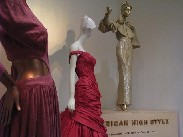 nyc fashion dresses brooklynmuseum charlesjames bonniecashin normannorell americanhighstyle