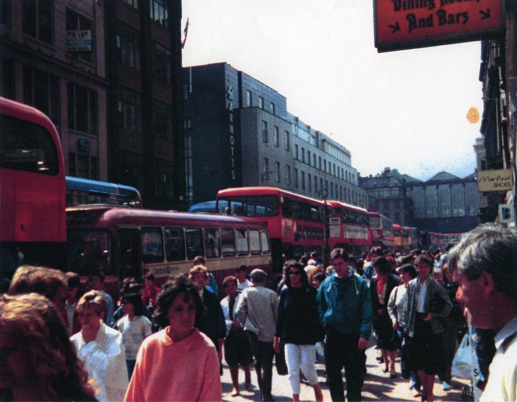 Argyle Street Glasgow 1990