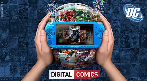 Digital comics Announcement
