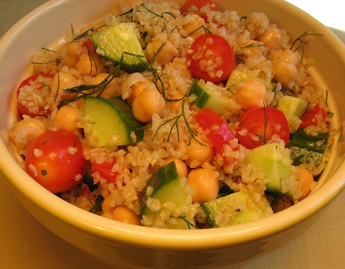 Bulgur, Garbanzo Bean, and Cucumber Salad 002