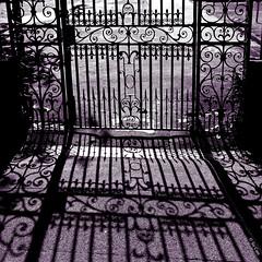 Tell me, is it just a dream? (Sir Cam) Tags: cambridge gate university shadows michaeljackson rockwell ul universitylibrary sircam somebodyswatchingme