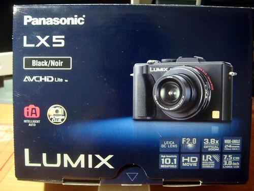 Panasonic Lumix LX5 DC