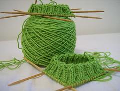 Green ribbing