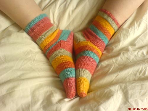 Pair o' Socks again