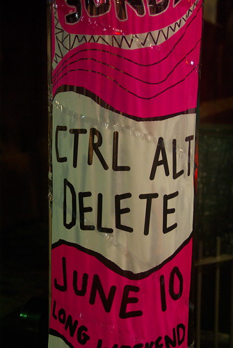 nerds her you go! the CTRL+ALT+DEL PARTY