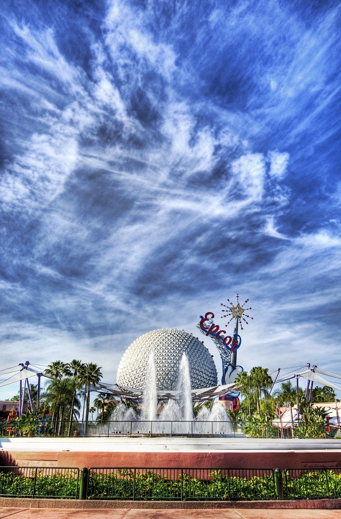 Sky Ice Crystals at Epcot