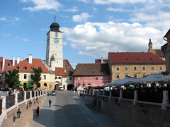 A postcard from Sibiu / Nagyszeben / Hermannstadt (sonykus) Tags: city tower turn europe fort medieval romania transylvania transilvania burg sibiu erdely hermannstadt europeancapitalofcu