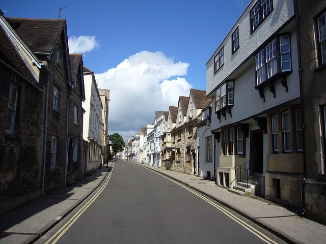 holywell street, oxford