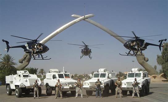 Blackwater en la Zona Verde de Bagdad