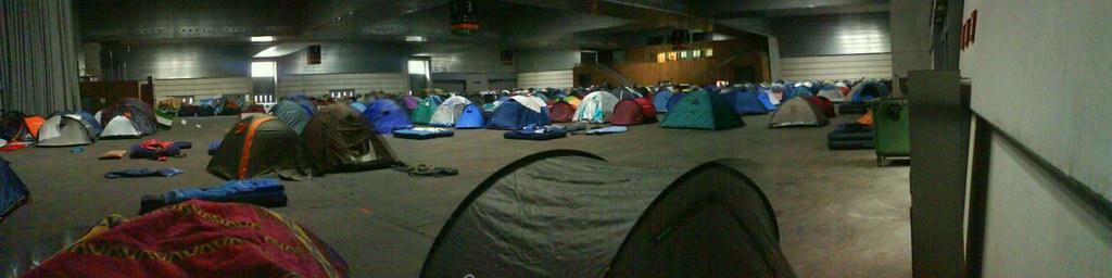 Zona de acampada Euskal Encounter 15
