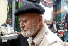 Lawrence Ferlinghetti at the San Francisco International Poetry Festival
