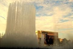 Bellagio Fountains Erupting
