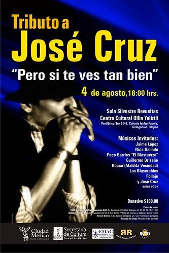 Tributo a José Cruz