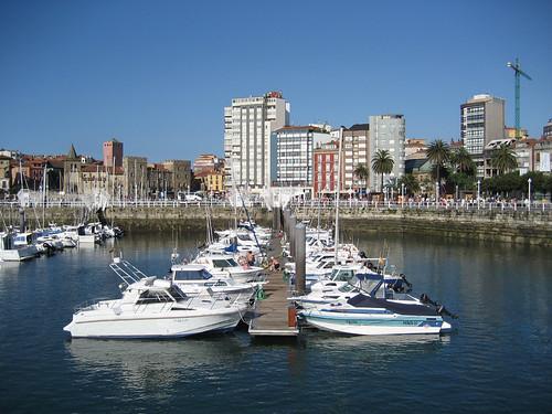 Puerto Deportivo de Gijón Foto