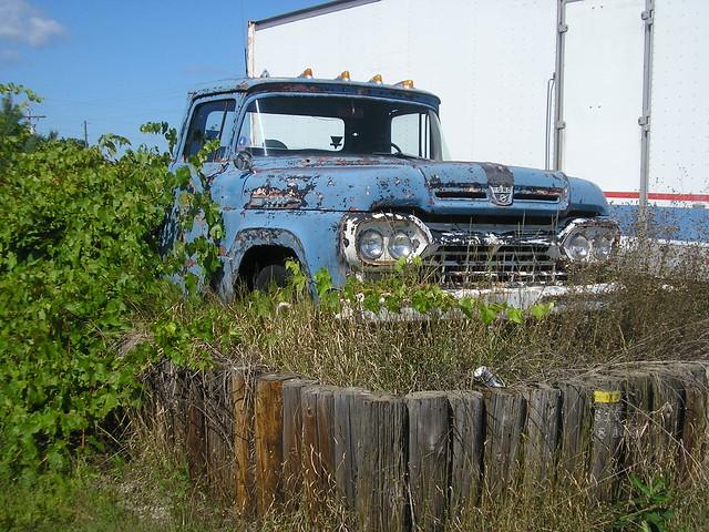 city ford abandoned truck rust michigan pickup traverse rusting