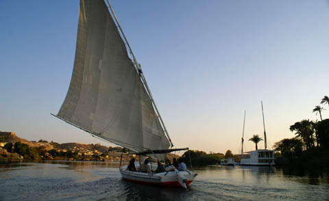 aswan felucca trip (cruising on the nile 2)