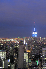 Top Of The Rock (rooneyjohn) Tags: nyc empirestate 30rock