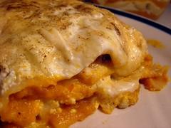 Pumpkin, Sage & Ricotta Lasagne